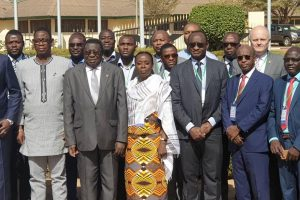 The Secretary General of APPO, Dr. Omar Farouk, in Ouagadougou for the Experts Meeting Preceding the Joint Meeting of ECOWAS Ministers in Charge of Hydrocarbons
