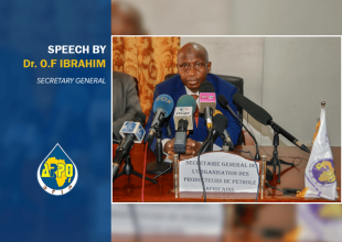 Thumbnail for the post titled: CEREMONY OF SIGNATURE OF THE HEADQUARTERS AGREEMENT BETWEEN THE REPUBLIC OF CONGO AND THE APPO, , Speech of SG