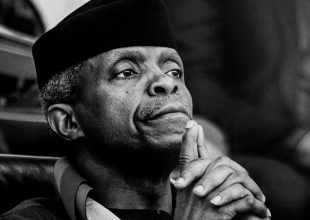 """Thumbnail for the post titled: """"The Divestment Delusion Why Banning Fossil Fuel Investments Would Crush Africa"""" By Prof. Yemi Osinbajo, Vice President of the Federal Republic of Nigeria"""